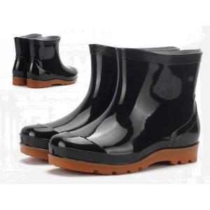 ショートブーツ メンズ レインブーツ ショート 梅雨 レインシューズ 靴 防水 雨靴 シューズ ラバーシューズ ラバーブーツ 雨具 防水 防滑 雨の日 人気 男性用|goodplus