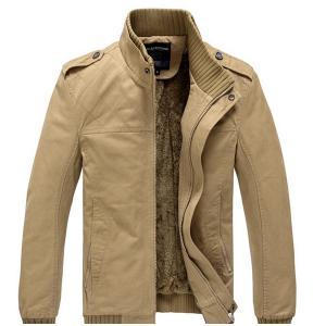 ビジネスコート ブルゾン メンズ ジャケット 裏ボア パーカー 裏起毛 ミリタリージャケット 冬 アウター カーキ ダークグリーン 大きいサイズ ピーコート|goodplus