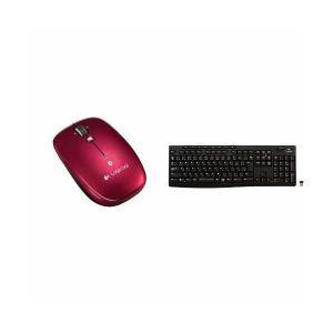LOGICOOL Bluetoothマウス m557 レッド M557RD & フル...