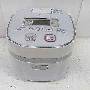 シャープ ジャー炊飯器 KS-C5K-W 3合炊き マイコン 自社配達対応東京23区・千葉一部地域|goodrecyclenetshop