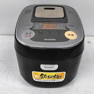 アイリスオーヤマ 炊飯器 IH式 5.5合 銘柄炊き分け機能付き 大火力 RC-IB50-B|goodrecyclenetshop