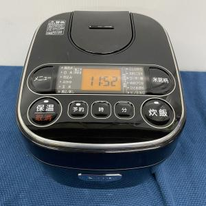アイリスオーヤマ ジャー炊飯器 0.54L ブラック RC-MA30AZ-B|goodrecyclenetshop