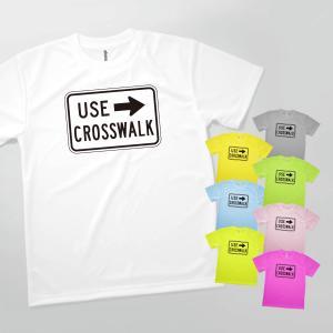 Tシャツ 歩行者横断禁止3 goods-pro