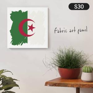 アルジェリア民主人民共和国国旗 ファブリックパネル goods-pro