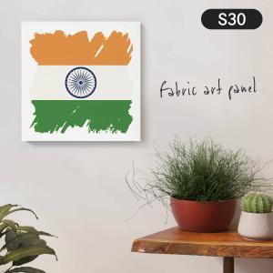 インド国旗 ファブリックパネル goods-pro