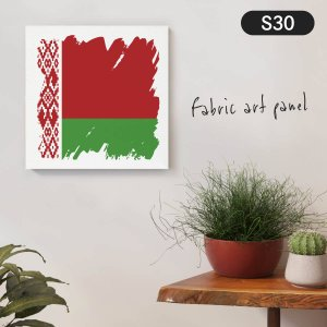 ベラルーシ共和国国旗 ファブリックパネル goods-pro