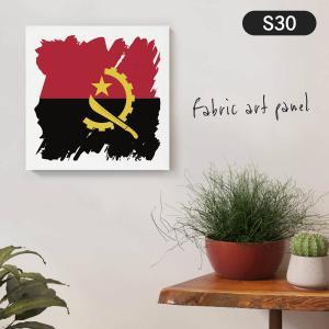 アンゴラ共和国国旗 ファブリックパネル goods-pro