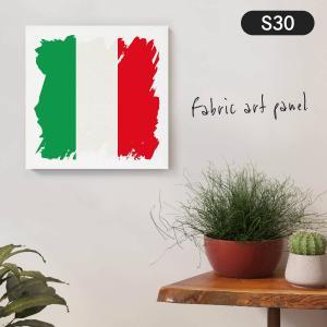 イタリア共和国国旗 ファブリックパネル goods-pro
