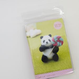ふわふわフェルトキット 食いしん坊パンダ|goods-pro