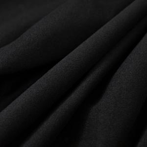 ナイレックス生地 ブラック ブラック N-1380 切りっぱなしでも使える 扱いやすい|goods-pro