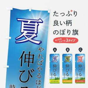 のぼり旗 夏塾体験募集中|goods-pro