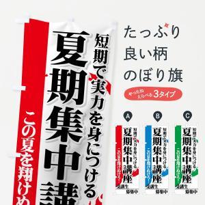 のぼり旗 夏期集中講座|goods-pro