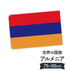 アルメニア共和国 国旗 W75cm H50cm|goods-pro
