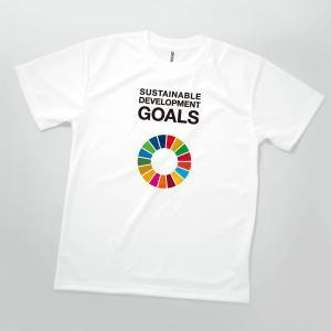 Tシャツ SDGs 英語 SUSTAINABLE DEVELOPMENT GOLDS|goods-pro