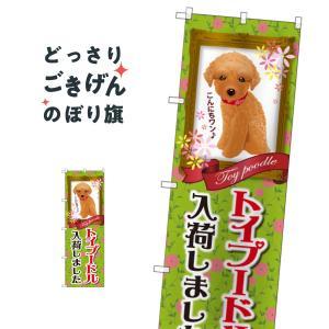 トイプードル のぼり旗 GNB-2467|goods-pro