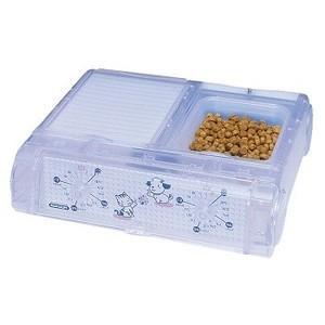 ペット自動給餌器 わんにゃんぐるめ CD-400 クリア 3個セット