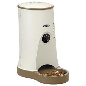 ペット自動給餌器 わんにゃんぐるめ CD-600 ベージュ 3個セット