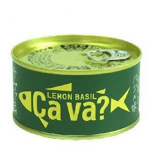 岩手県産 サヴァ缶 国産サバのレモンバジル味170g サバ缶 goodsbank