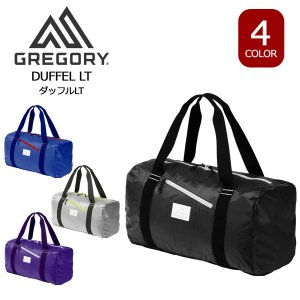 GREGORY(グレゴリー)ダッフルLT。旅は行きより帰りに荷物が多くなっていることがほとんどです。...