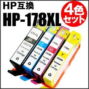 hp178XL hp 互換インク HP178XL 4色セット 【CB321H CB323H CB324H CB325H hp178XL】 goodselect
