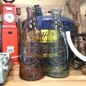 ガラスボトル 花瓶 ガーデニング カントリー雑貨|goodsfarm