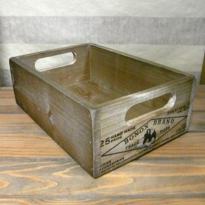 ダルトン スタッキング ウッドボックス 木箱 収納 カントリー雑貨|goodsfarm