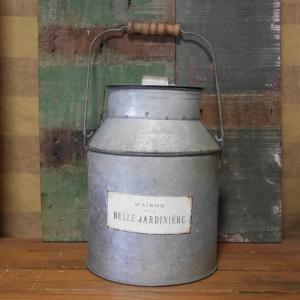 アンティーク風 ブリキ ミルクポット ガーデニング ミルク缶 フラワーポット|goodsfarm
