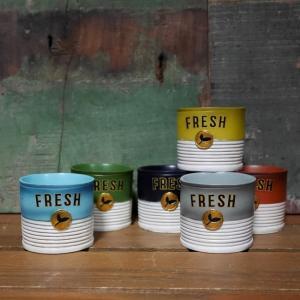 缶詰 ポット LITTLE RESIN POT ガーデニング プランター 鉢 goodsfarm