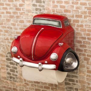 トイレットペーパーホルダー RED CAR ビートルタイプ アメリカン インテリア goodsfarm