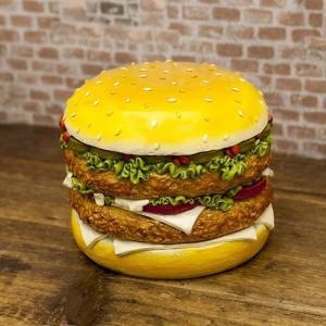 ハンバーガー マネーバンク 貯金箱 インテリア|goodsfarm