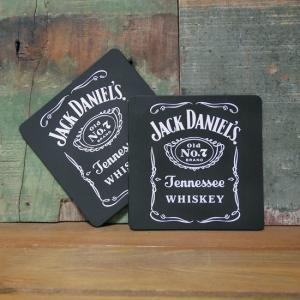 ジャックダニエル ラバーコースター 2枚セット Jack Daniel's アメリカン雑貨 goodsfarm