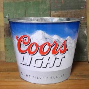 Coors LIGHT ティンバケツ ワインクーラー クアーズ|goodsfarm