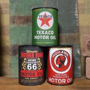 アメリカン雑貨でお馴染みのオイル缶が、何にでも使える収納インテリアになりました。アメリカンオイルメー...