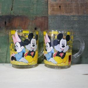 ミッキーマウス ヴィンテージ マグカップ 2個セット ディズニー コップ goodsfarm
