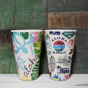 ハワイアン タンブラー アロハ バンブー カップ goodsfarm