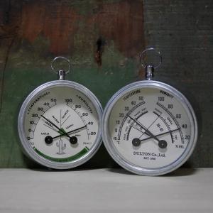 サーモハイグロメーター ダルトン THERMO-HYGROMETER DULTON 温湿度計|goodsfarm
