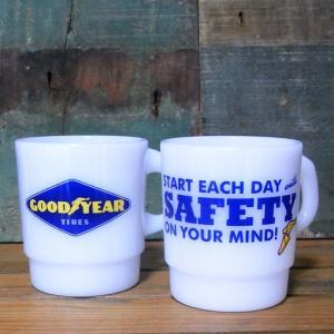 グッドイヤー スタッキング マグカップ GOOD YEAR ミルキーマグ|goodsfarm