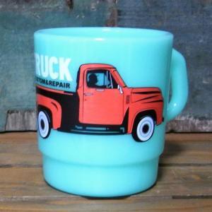 トラック スタッキング ミルキーマグカップ コップ|goodsfarm