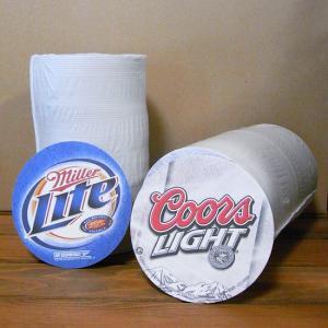 ペーパーコースター 100Pセット Coors Light クアーズライト Miller Lite ミラー ビール goodsfarm