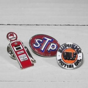 アメリカン モーター系 ピンバッジ AMERICAN RCING PINS アメリカン雑貨|goodsfarm