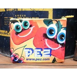 アメリカン ビニールポーチ PEZ シガレットケース アメリカン雑貨|goodsfarm