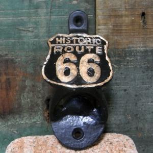 ルート66 ボトルオープナー 栓抜き ROUTE66 インテリア goodsfarm