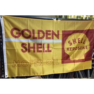 シェル タペストリー アメリカンフラッグ GOLDEN SHELL アメリカン雑貨 goodsfarm