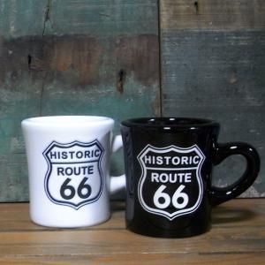 ルート66 マグカップ 陶器製 ROUTE66 コップ 撥水マグ アメリカン雑貨 goodsfarm