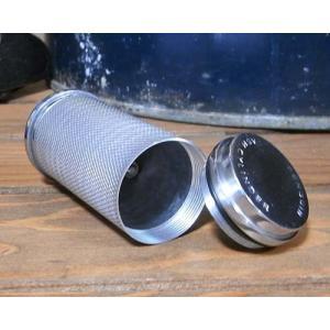 携帯灰皿 アッシュシリンダー キーホルダー型灰皿 エンジンタン ブラック シルバー goodsfarm 06