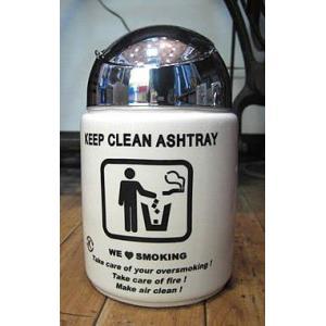 灰皿 卓上 KEEP CLEAN灰皿 トレッシュボックス 卓上灰皿 アメリカン雑貨|goodsfarm