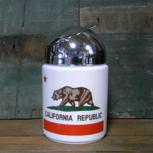 カリフォルニア ドーム灰皿 CALIFORNIA REPUBLIC 卓上灰皿|goodsfarm