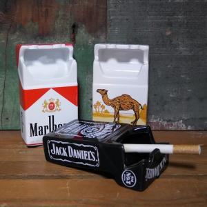 タバコ 箱型灰皿 卓上灰皿