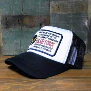 U.S.AIR FORCE メッシュキャップ アメカジ 帽子 アメリカン雑貨|goodsfarm|02