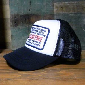 U.S.AIR FORCE メッシュキャップ アメカジ 帽子 アメリカン雑貨|goodsfarm|03